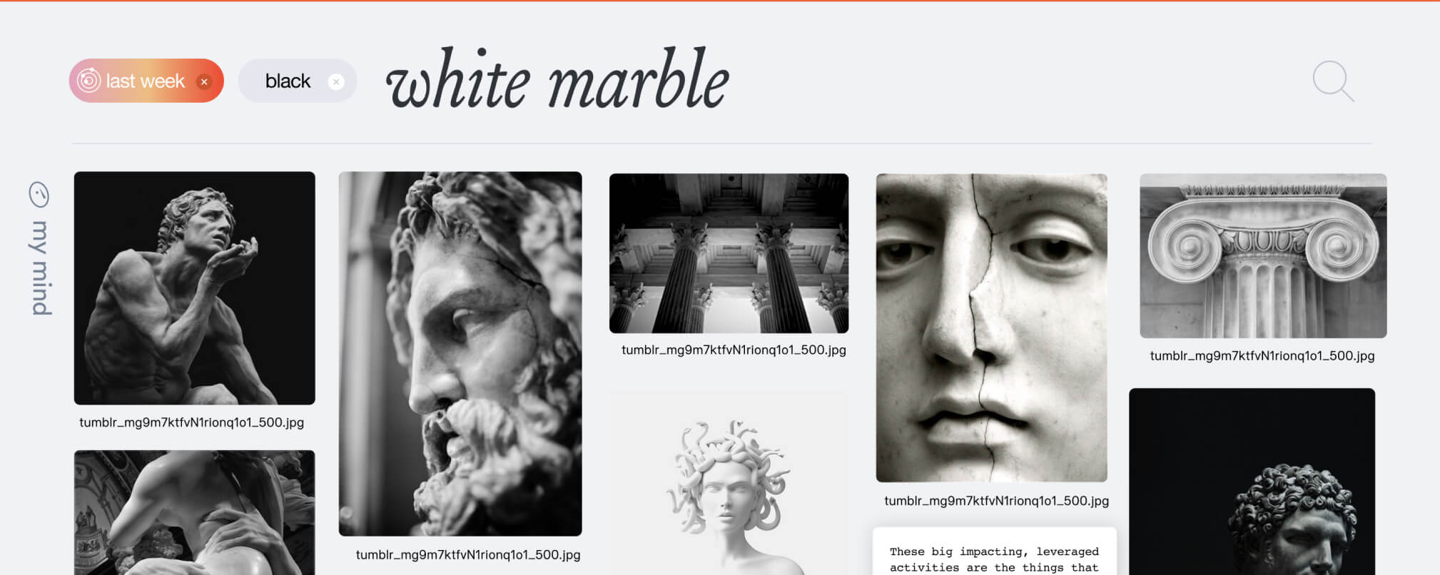 search-white-marble